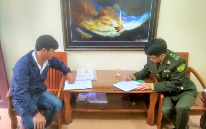 Hạt Kiểm lâm VQG Phong Nha - Kẻ Bàng:Tiếp tục xử phạt...